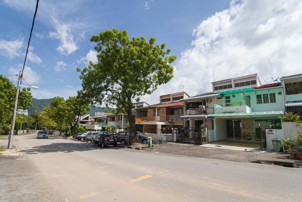are located about 10 minutes drive from Penang Heritage City~George Town