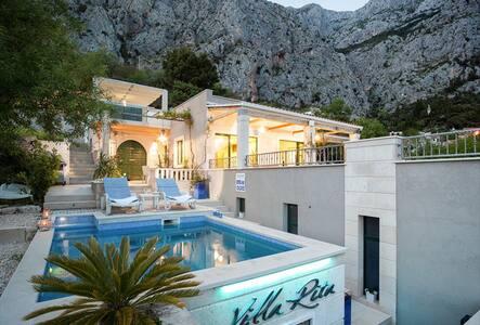 Villa Rita****Pool,Jacuzzi,minigolf - Makarska