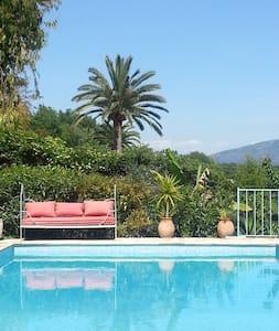 RDC villa avec piscine la Gaude - La Gaude - Διαμέρισμα