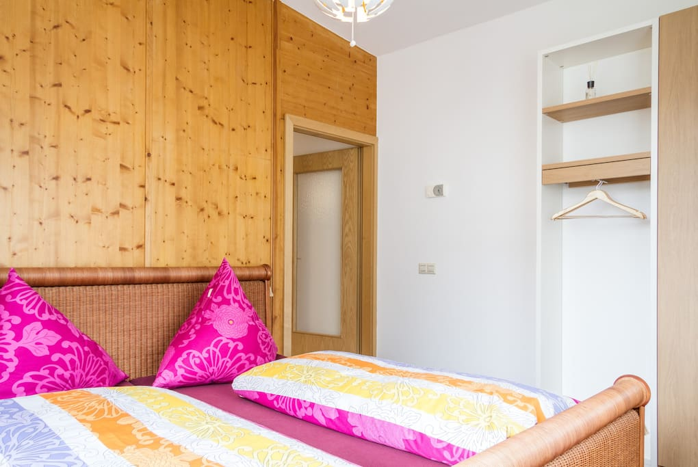Bright, quiet and comfortable bedroom with king size top quality bed.