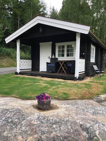 Trivelig liten hytte