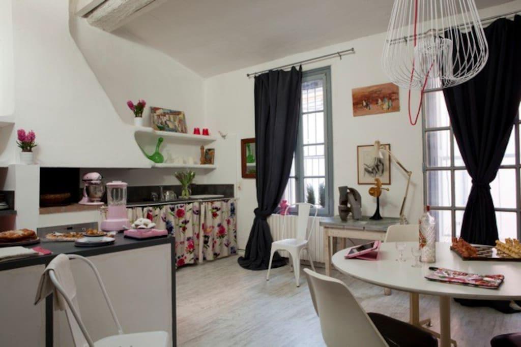 Maison loft atelier d 39 artiste lofts louer for Loft atelier artiste