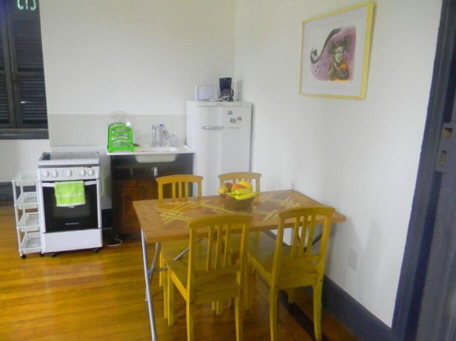 Kitchen of room 201