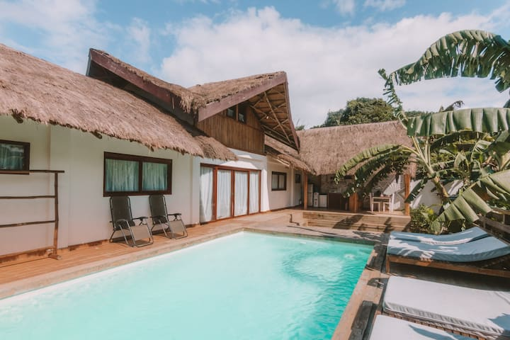 Hideaway Villa (With Pool and Private 4x4 SUV)