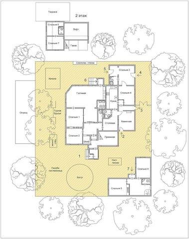 Фантастический дом на Соколе - Moskva - Hus