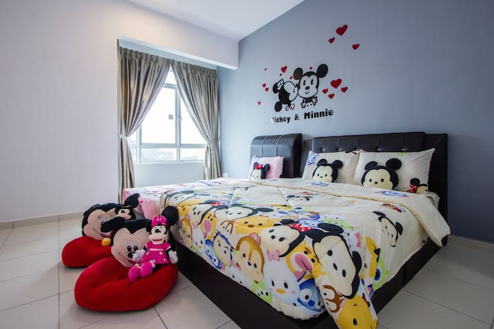 Cartoon Wonderland Family Suite With Free Wifi