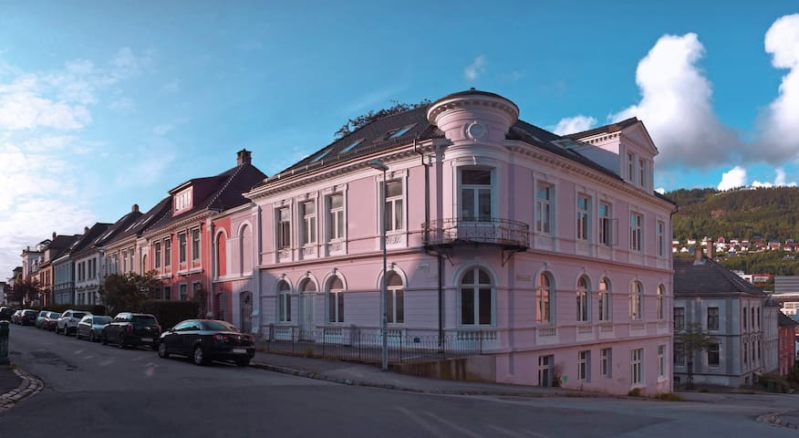 Luxery Apartment in Pink Villa - Bergen - Villa