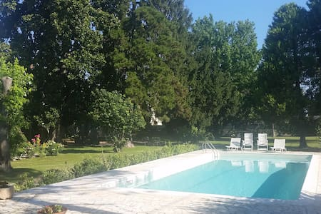 'Castello' apartment in the nature! - nogarole rocca
