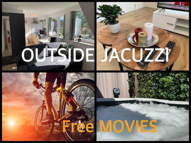 Luxe Appartementen Apeldoorn 2 / Jacuzzi