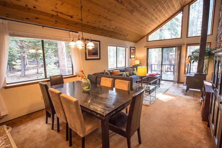 Tahoe Donner Contemporary Cabin Retreat