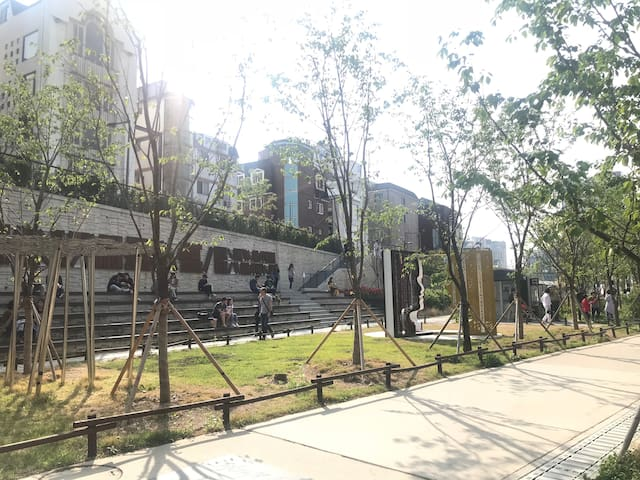 JDHaus*(BEST SPOT)Park Street_Hong ik University