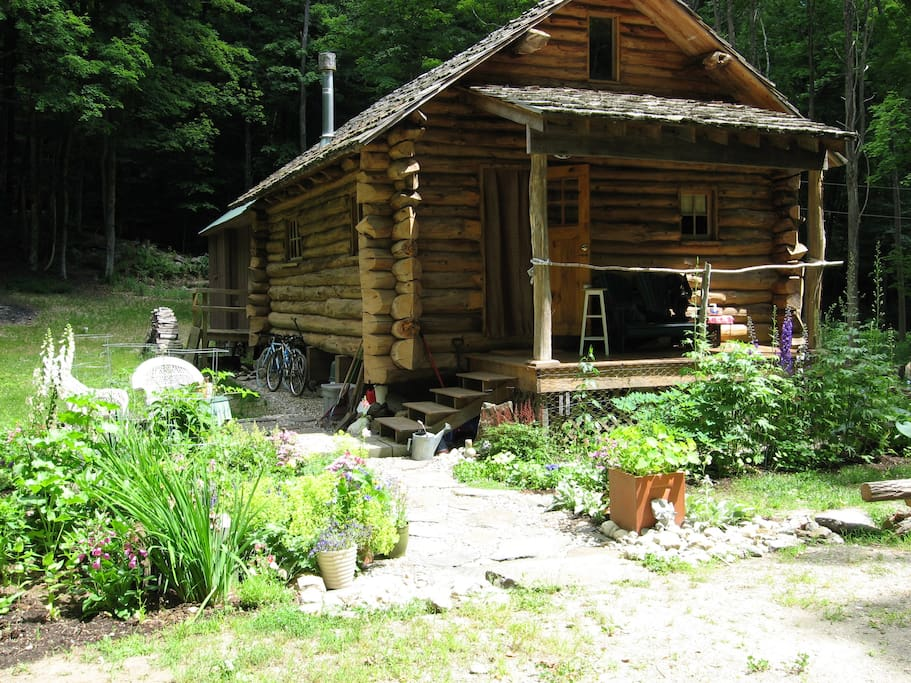 Beautiful Vermont Log Home Retreat Case In Affitto A