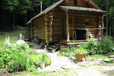 Beautiful Vermont Log Home Retreat - Putney - House