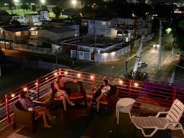 Ocean view rooftop terrace.  Relax and enjoy!