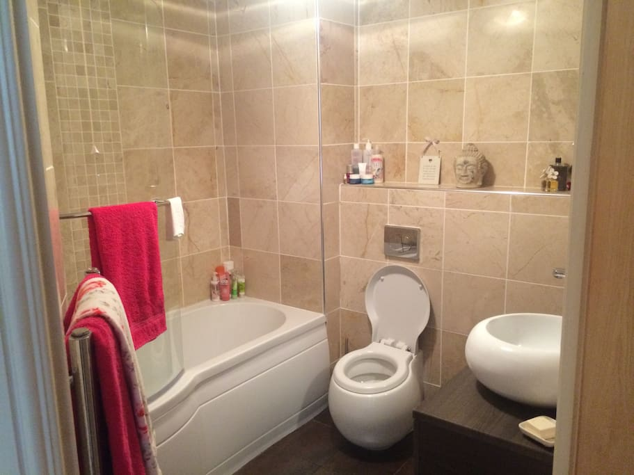 This is the bathroom with a shower/bath