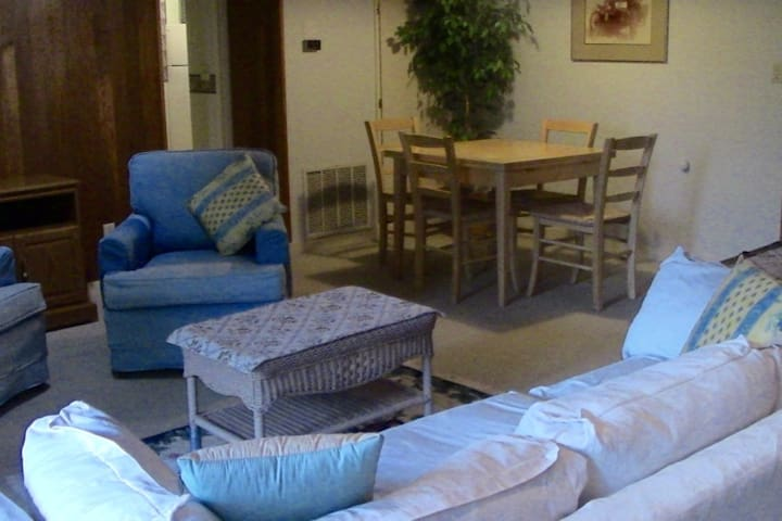 Cozy two-bedroom apartment, close to town - Longview - Apartamento