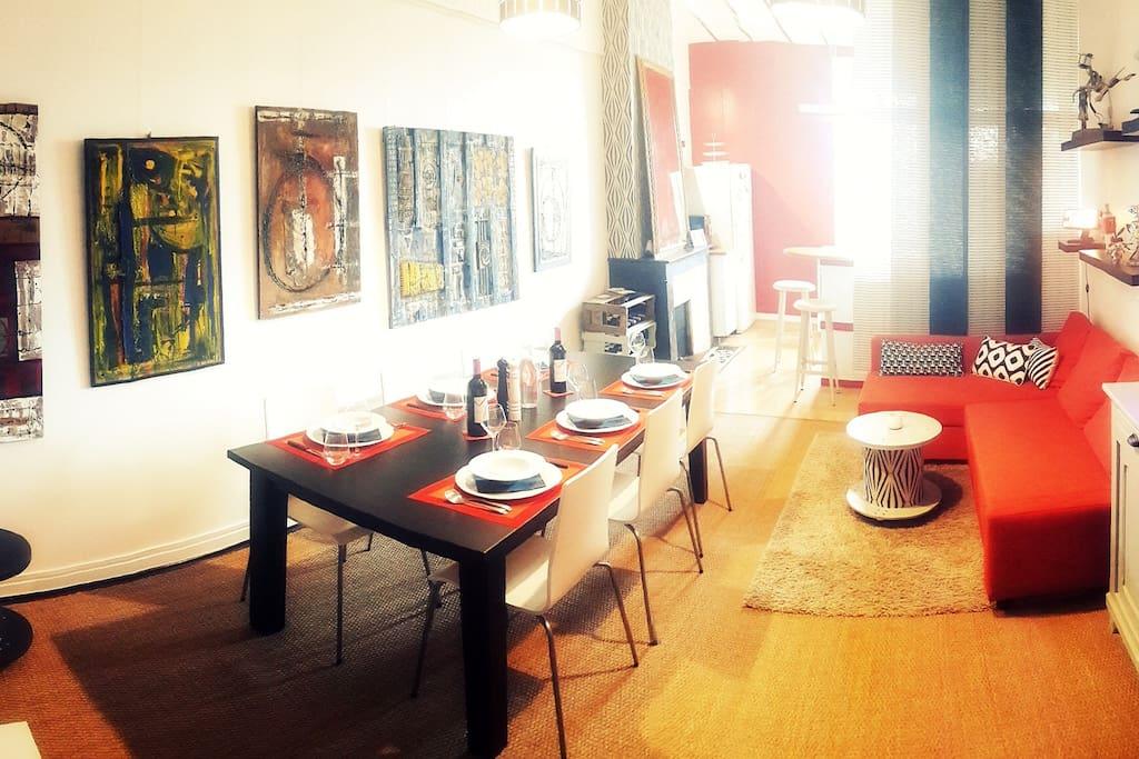 A bordeaux un spot au coeur des chartrons - Location appartement meuble bordeaux chartrons ...