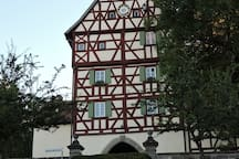 Turmstüble im Torturm/ Burgbernheim