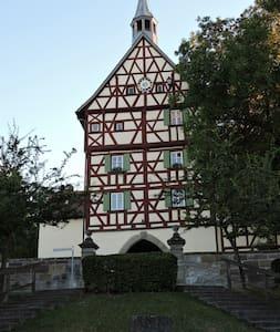 """""""Turmstüble"""" in Burgbernheim - Burgbernheim - Квартира"""