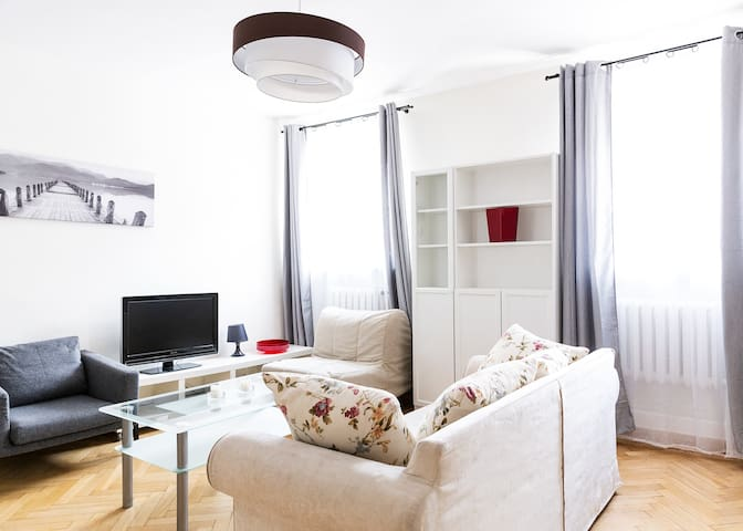 Central - bright&comfy -Nowy Swiat royal street.zr