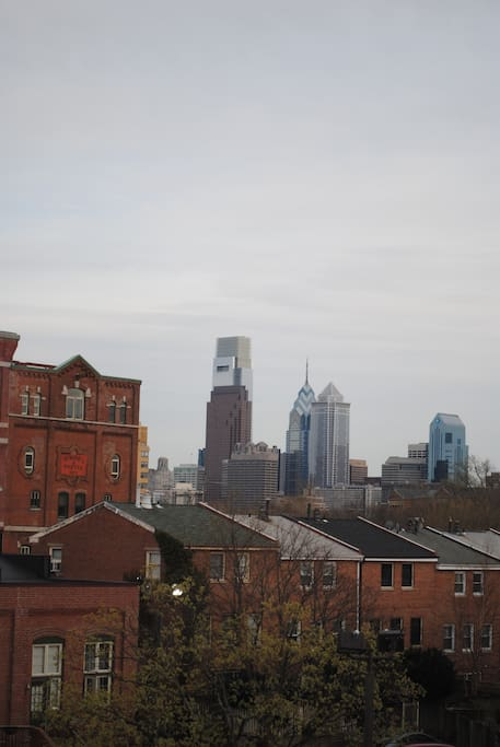 Skyline view from the home.