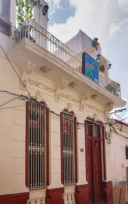 Casa O'Farrill from the street