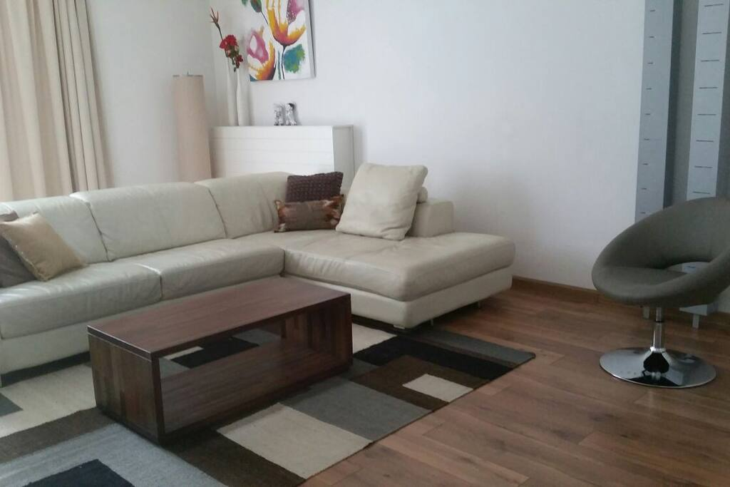 Livingroom (leather couch)