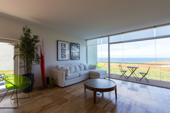 Ocean View Beach House in Santa Cruz - A-dos-Cunhados - Huis