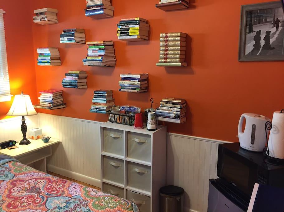 Books, books everywhere!