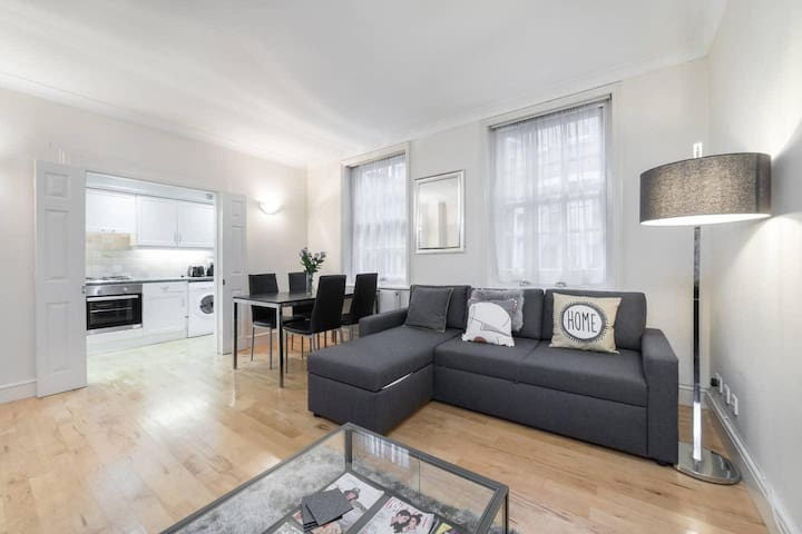 Charming one bedroom apartment in central London close to Oxford Street