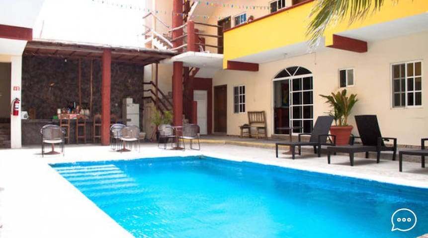 Hotel Paraiso Single Room 8 - Isla Mujeres - Byt