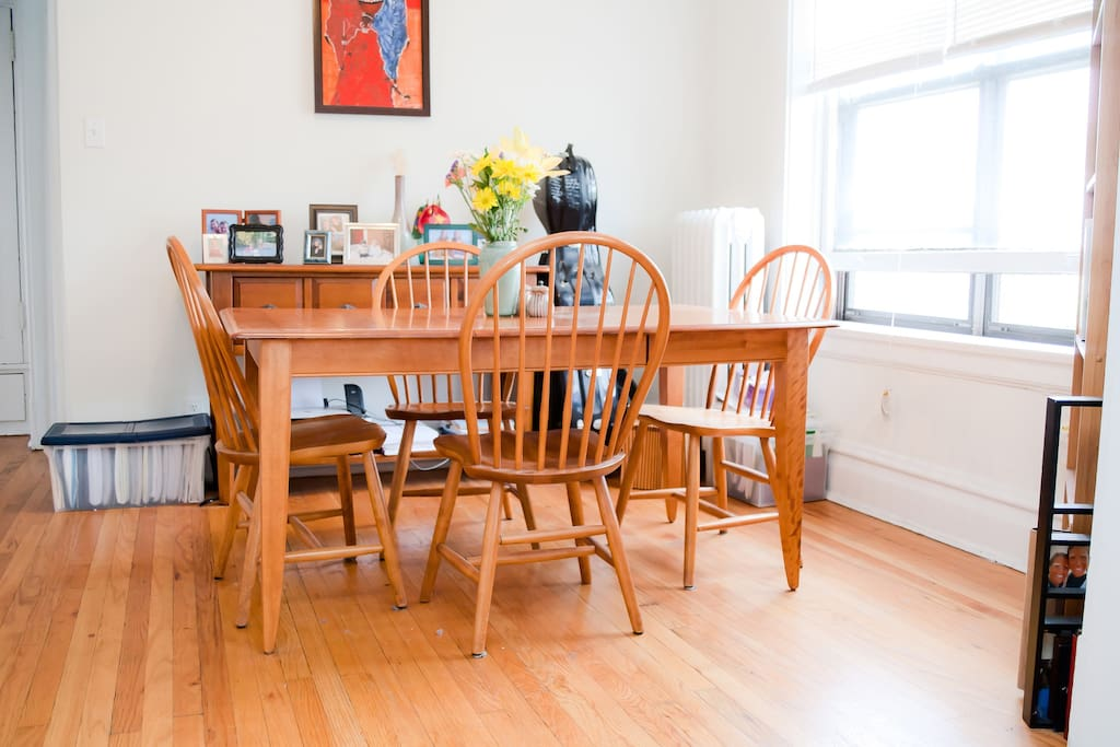 Dining area, perfect for breakfest