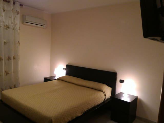 Camere  in zona notte dell' appartamento