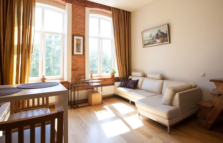 Trendy Studio Apartment - Kaunas - Apartment