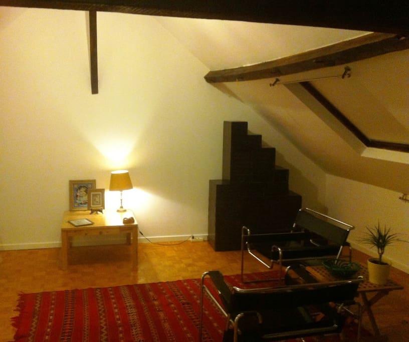 Ancienne maison bruxelloise chambres d 39 h tes louer for Chambre d hote bruxelles