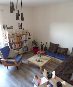 appartement sympa avec jardin