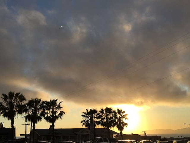 Beach Sunsets outside your door