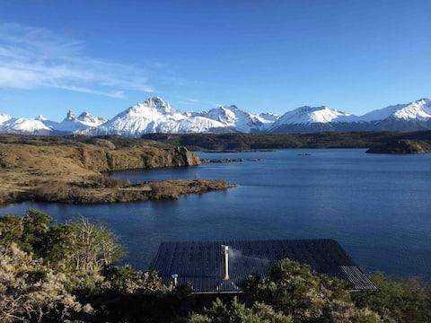 Palo Lodge, Bungalow. Cerro Castillo, Aysén, Chile