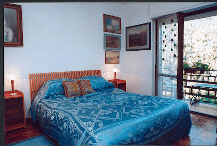 Rome hillside DB Bedroom/balcony - Albano Laziale - Bed & Breakfast