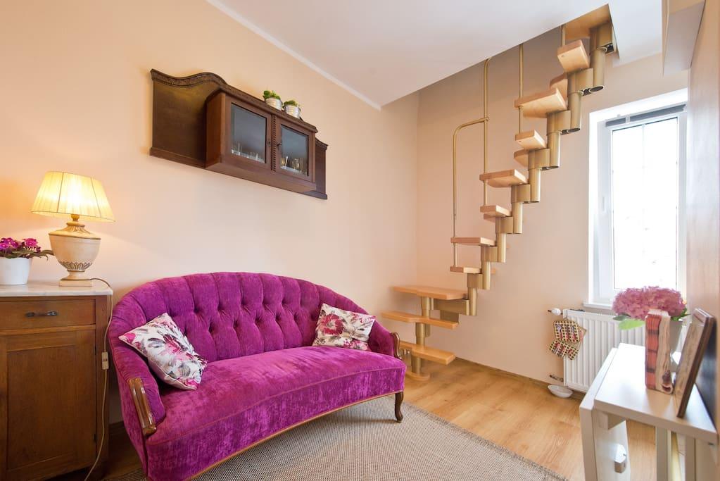 piwna attic wohnungen zur miete in gda sk pomorskie polen. Black Bedroom Furniture Sets. Home Design Ideas