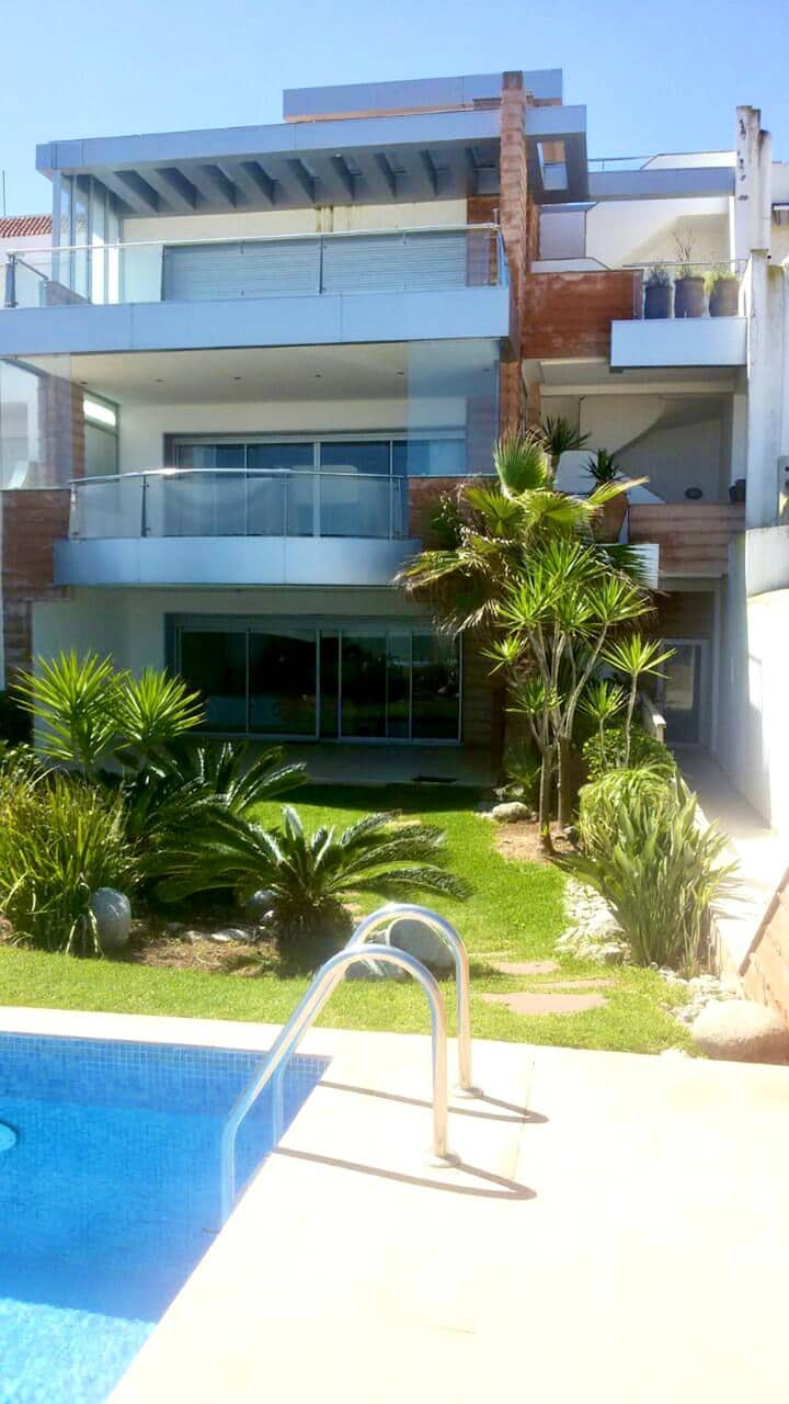 Villa with 12 bedrooms in Bouznika, with wonderful sea view, private pool, enclosed garden