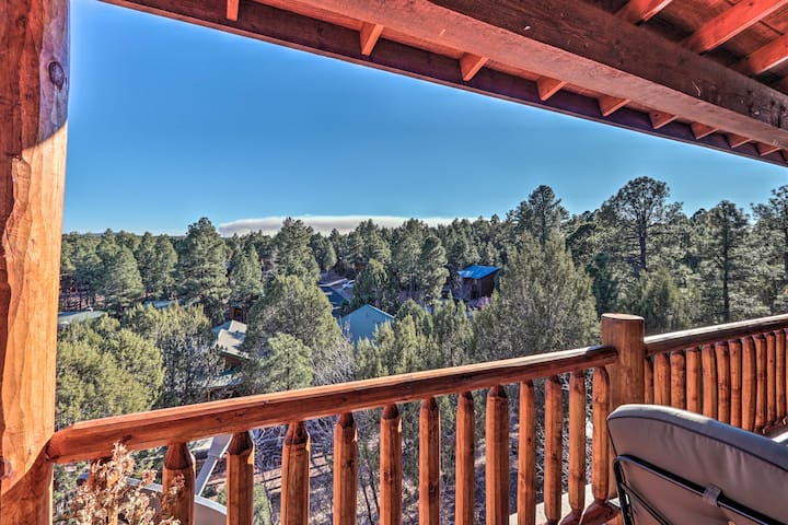 Ski Retreat w/Deck, Grill, Views ~42 Mi to Sunrise