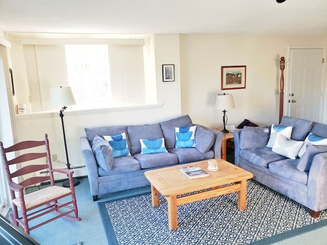 Cute two bedroom condo close to Stowe Mountain