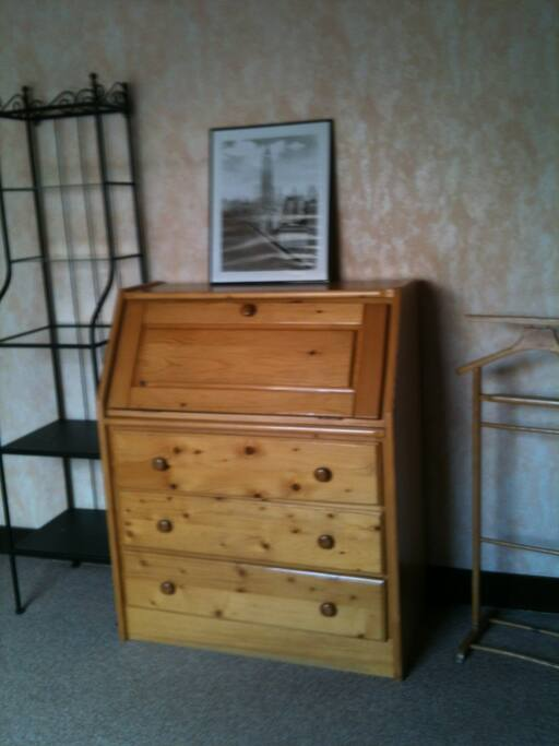 Room#1 - Desk and chest of drawers