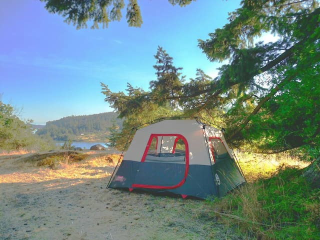 Bluff top tent - Deer Harbor