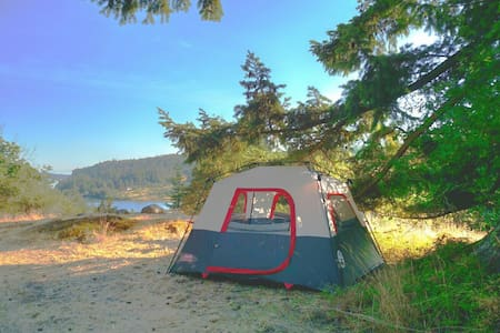 Bluff top tent - Deer Harbor - 帐篷