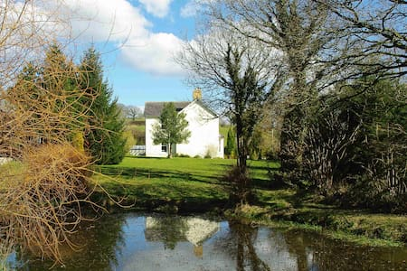 Tanicwm Bed and Breakfast- Red Room - Abermeurig - Bed & Breakfast