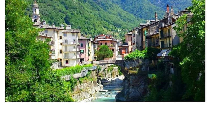 Your life in romantic style ! - Chiavenna - Huoneisto