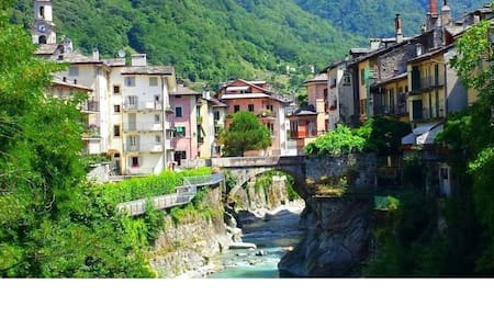 Your life in romantic style ! - Chiavenna - Lejlighed