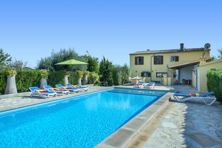 Enjoy in Villa Alqueria Alt with Private Pool and Great Views